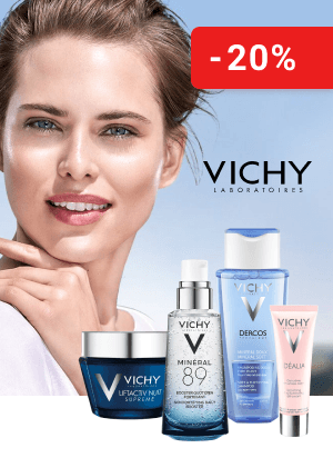 Даруємо промокод 20% на косметику ТМ Vichy