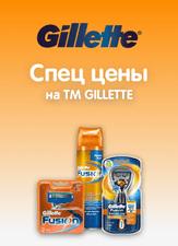 Спец Цены на GILLETTE