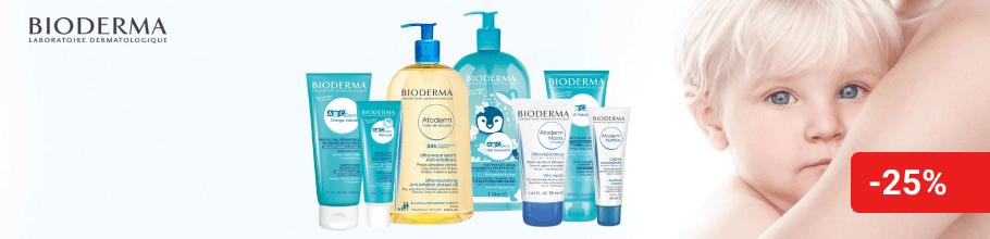 Знижка 25% на косметику ТМ Bioderma