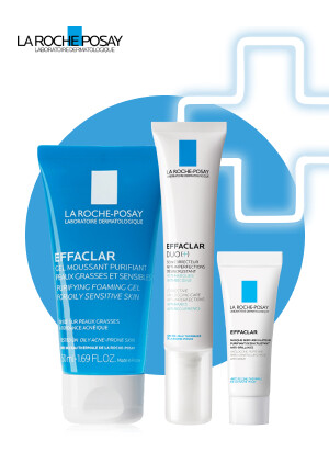 Набор Эфаклар ТМ La Roche-Posay для комплексного ухода за кожей