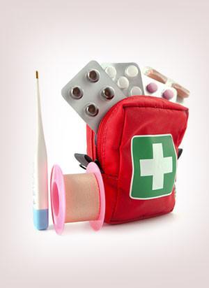 Аптечка первой помощи для путешествий