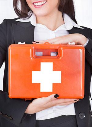 Аптечка первой помощи для служебных помещений