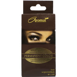 Крем-краска для бровей и ресниц АРОМАТ Permanent Color (Пермамент Колор) код оттенка 200 цвет Коричневый