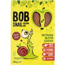 Конфеты детские натуральные Bob Snail (Боб Снеил) Улитка Боб яблочные 120 г