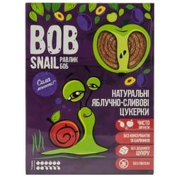 Конфеты детские натуральные Bob Snail (Боб Снеил) Улитка Боб яблочно-сливовые 120г