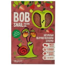 Конфеты детские натуральные Bob Snail (Боб Снеил) Улитка Боб яблочно-клубничные 120 г