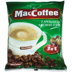 Напиток кофейный MACCOFFEE (Маккофе) 3 в 1 с ароматом лесной орех пакетик 18 г 1 шт