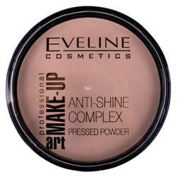 Пудра для лица EVELINE (Эвелин) Art Professional Make-up матирующая минеральная с шелком тон 35 Golden Beige 14 г