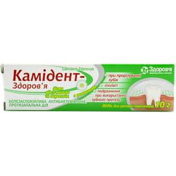 Камидент-Здоровье гель туба 10г
