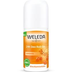 Дезодорант для тела WELEDA (Веледа) Облепиха Roll-On 24 часа эффективная натуральная защита от запаха пота 50 мл