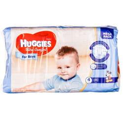 Подгузники для детей HUGGIES (Хаггис) Ultra Comfort Mega (Ультра комфорт мега) 4 для мальчиков 66 шт
