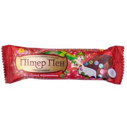 Батончик в шоколадной глазури витаминизированный Питер Пэн Клюква 40 г