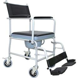 Кресло-каталка с санитарным оснащение KJT707C RD-CARE-T05