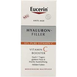Средство для лица EUCERIN (Юцерин) Hyaluron Filler (Гиалурон филлер) бустер витамин С 8 мл