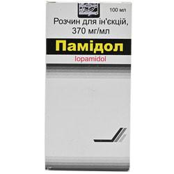Памидол р-р д/ин. 370мг йода/мл фл. 100мл