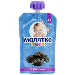 Пюре фруктовое детское Малятко Чернослив с 4-х месяцев дой-пак 90 г