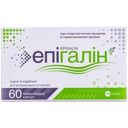 Капсулы общеукрепляющего и тонизирующего действия для мужчин и женщин Эпигалин 60 шт