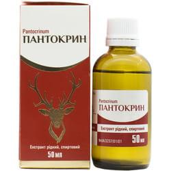 Пантокрин экстракт жидк. спирт. фл. 50мл