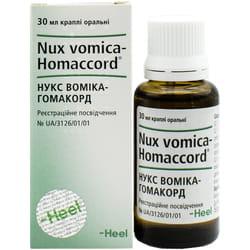 Нукс Вомика-Гомакорд кап. орал. фл. 30мл
