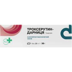 Троксерутин-Дарница гель 20мг/г туба 30г