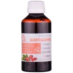 Шиповник фитосироп для повышения иммунитета и профилактики авитаминоза флакон 200 мл