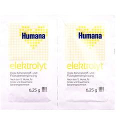 Электролит HUMANA (Хумана) с бананом 6,25 г