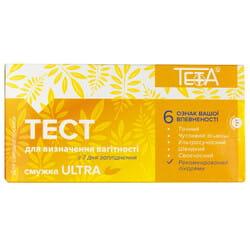 Тест полоска для определения беременности Teta (Тета) Ultra (Ультра) (10 мМЕ/мл) 1 шт Тетафарм