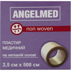 Пластырь медицинский Angelmed (АнгелМед) на нетканной основе 2,5см х 500см 1 шт