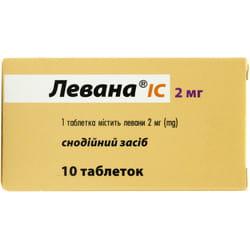 Левана IC табл. 2мг №10