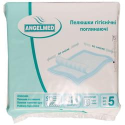 Пеленки гигиенические поглощающие Angelmed (АнгелМед) размер 60см x 60см 5 шт