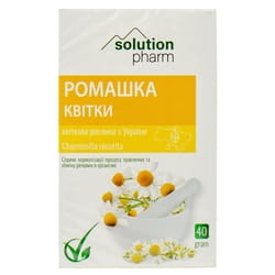 Ромашки цветки 40г Solution Pharm