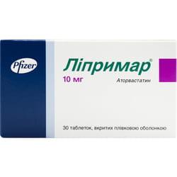 Липримар табл. п/о 10мг №30