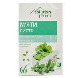 Мяты перечной листья 50г Solution pharm
