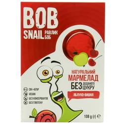 Мармелад фруктовый детские Bob Snail (Боб Снеил) Улитка Боб яблоко-вишня 108 г