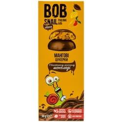 Конфеты детские натуральные Bob Snail (Боб Снеил) Улитка Боб манговые в бельгийском молочном шоколаде 30г