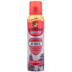 Аэрозоль от всех летающих и кровососущих насекомых и клещей GARDEX EXTREME (Гардекс Экстрим) 125 мл