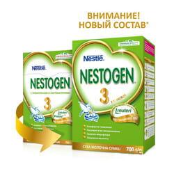 Смесь молочная детская NESTLE (Нестле) Нестожен 3 с лактобактериями L. Reuteri с 12 месяцев 700 г