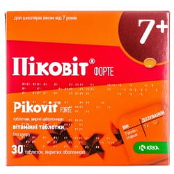 Пиковит форте табл. п/о №30