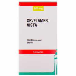 Севеламер-Виста табл. п/плен. обол. 800мг №180