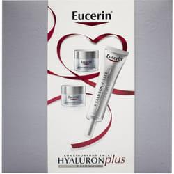 Набор для лица EUCERIN (Юцерин) Hyaluron-Filler (Гиалурон филлер) крем для кожи вокруг глаз 15 мл + крем ночной 14 мл 2 шт