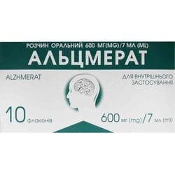 Альцмерат р-р орал. 600мг/7мл фл. 7мл №10