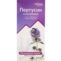 Пертуссин сироп классический при кашле фл. 200мл Solution Pharm