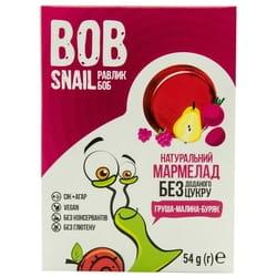 Мармелад фруктовый детские Bob Snail (Боб Снеил) Улитка Боб груша-малина-свекла 54 г