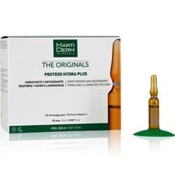 Средство для лица, шеи, зоны декольте MARTIDERM (Мартидерм) Протеос Гидра Плюс увлажняющее, антиоксидантное для сухой кожи в ампулах по 2 мл 30 шт
