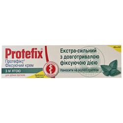 Крем для фиксации зубных протезов Протефикс Мята 40 мл