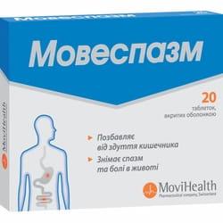 Мовеспазм табл. п/о №20