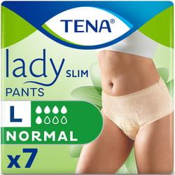 Подгузники-трусы для взрослых TENA (Тена) Lady Slim Pants Normal Large (Леди Слим Пентс Нормал Лардж) 7 шт