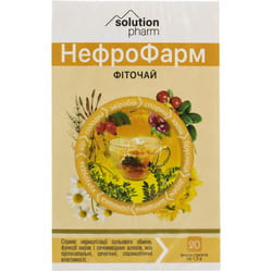 НефроФарм фиточай (почечный) фильтр-пак. 1,5г №20 Solution Pharm