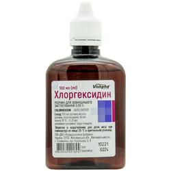 Хлоргексидин р-р 0,05% фл. 100мл с крыш.-капел.