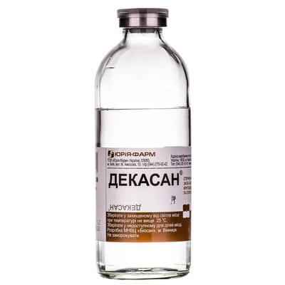Официальная инструкция Декасан р-р 0,2мг/мл бут. 200мл (Юрия фарм) - Аптека 9-1-1